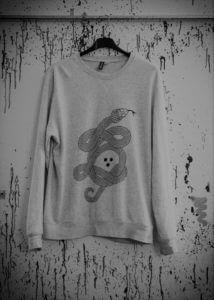 Sweatshirt und Textilien